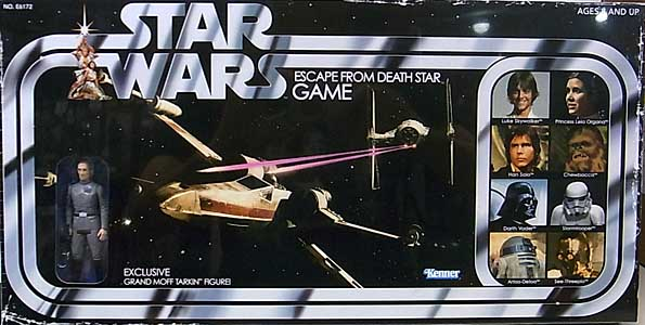 HASBRO STAR WARS RETRO COLLECTION ESCAPE FROM DEATH STAR GAME