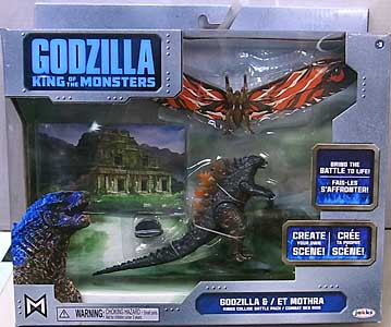 JAKKS PACIFIC GODZILLA: KING OF THE MONSTERS BATTLE PACK GODZILLA & MOTHRA