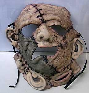 デススタジオ製 レザーフェイス ラバーマスク ウェアラブル仕様