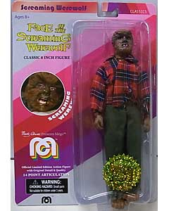 MEGO CLASSIC 8INCH FIGURE FACE OF THE SCREAMING WEREWOLF SCREAMING WEREWOLF [RED PLAID SHIRT]