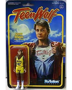 SUPER 7 REACTION FIGURES 3.75インチアクションフィギュア TEEN WOLF SCOTT HOWARD [BASKETBALL]