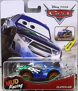 MATTEL CARS 2018-2019 XTREME RACING SERIES MUD RACING シングル CLUTCH AID ブリスターワレ特価