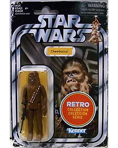 HASBRO STAR WARS 3.75インチアクションフィギュア RETRO COLLECTION CHEWBACCA