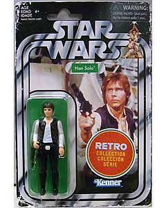 HASBRO STAR WARS 3.75インチアクションフィギュア RETRO COLLECTION HAN SOLO