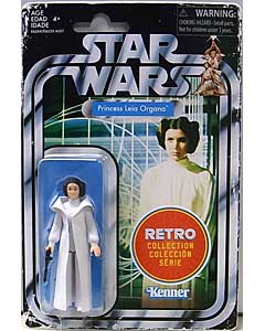 HASBRO STAR WARS 3.75インチアクションフィギュア RETRO COLLECTION PRINCESS LEIA ORGANA