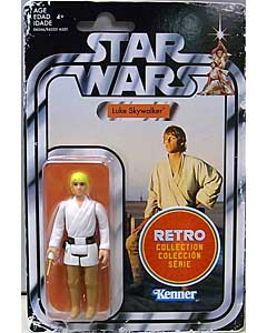 HASBRO STAR WARS 3.75インチアクションフィギュア RETRO COLLECTION LUKE SKYWALKER