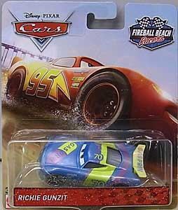 MATTEL CARS 2018-2019 FIREBALL BEACH RACERS シングル RICHIE GUNZIT
