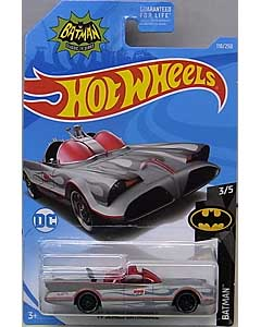 MATTEL HOT WHEELS 1/64スケール 2019 BATMAN TV SERIES BATMOBILE #118