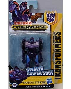 HASBRO アニメ版 TRANSFORMERS CYBERVERSE SCOUT CLASS SHADOW STRIKER 台紙傷み特価