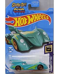 MATTEL HOT WHEELS 1/64スケール 2019 HW SCREEN TIME SCOOBY-DOO! & BATMAN THE BRAVE AND THE BOLD BATMOBILE #128