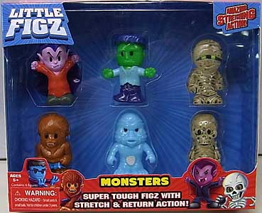 その他・海外メーカー LITTLE FIGZ MONSTERS 6PACK [BOYLE入り]