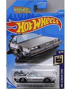 MATTEL HOT WHEELS 1/64スケール 2019 HW SCREEN TIME BACK TO THE FUTURE TIME MACHINE HOVER MODE #108