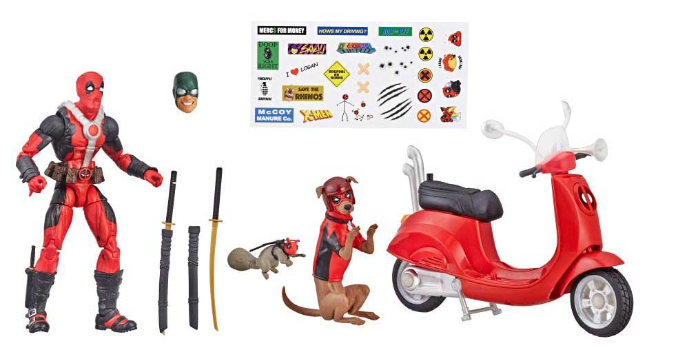 HASBRO MARVEL LEGENDS 2019 DEADPOOL CORPS DEADPOOL AND SCOOTER