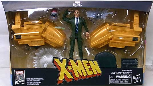 HASBRO MARVEL LEGENDS 2019 X-MEN PROFESSOR X AND HOVER CHAIR パッケージ傷み特価