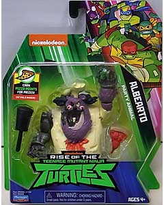 PLAYMATES RISE OF THE TEENAGE MUTANT NINJA TURTLES ベーシックフィギュア ALBEARTO