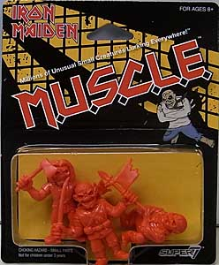 SUPER 7 MUSCLE IRON MAIDEN 3PACK [RED]