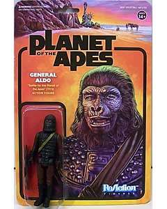 SUPER 7 REACTION FIGURES 3.75インチアクションフィギュア PLANET OF THE APES WAVE 2 GENERAL ALDO