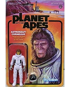 SUPER 7 REACTION FIGURES 3.75インチアクションフィギュア PLANET OF THE APES WAVE 2 ASTRONAUT CORNELIUS