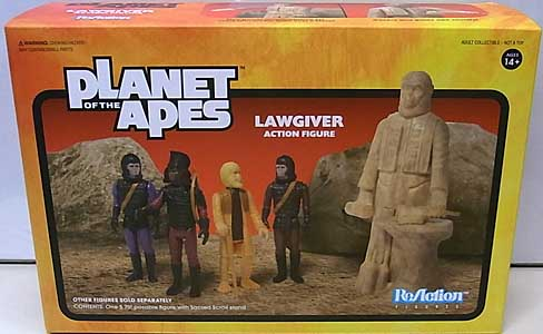 SUPER 7 REACTION FIGURES 3.75インチアクションフィギュア PLANET OF THE APES WAVE 2 LAWGIVER