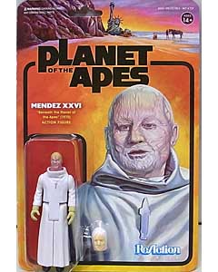 SUPER 7 REACTION FIGURES 3.75インチアクションフィギュア PLANET OF THE APES WAVE 2 MENDEZ XXVI