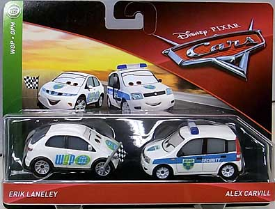 MATTEL CARS 2018-2019 2PACK ERIK LANELEY & ALEX CARVILL