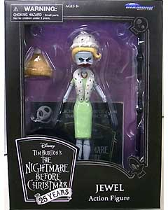 DIAMOND SELECT THE NIGHTMARE BEFORE CHRISTMAS 25 YEARS アクションフィギュア JEWEL