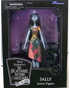 DIAMOND SELECT THE NIGHTMARE BEFORE CHRISTMAS 25 YEARS アクションフィギュア SALLY