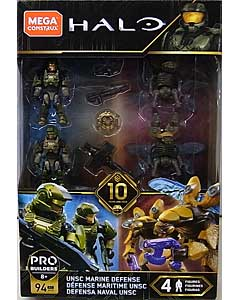 MEGA CONSTRUX HALO UNSC MARINE DEFENSE 4PACK