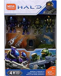 MEGA CONSTRUX HALO SPARTAN-IV TEAM BATTLE 4PACK