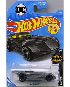 MATTEL HOT WHEELS 1/64スケール 2019 BATMAN DC COMIC BATMOBILE #17