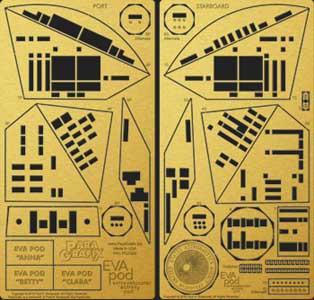 PARAGRAFIX メビウスモデル 1/8スケール 2001年宇宙の旅 スペースポッド用 エッチングパーツ / PGX220