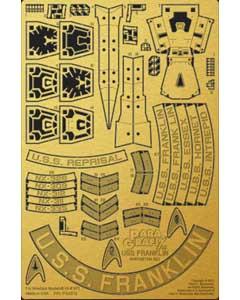 PARAGRAFIX メビウスモデル 1/350スケール スタートレック・ビヨンド U.S.S. フランクリン NX-326用 エッチングパーツ / PGX212