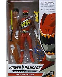 HASBRO POWER RANGERS LIGHTNING COLLECTION 6インチアクションフィギュア DINO CHARGE RED RANGER