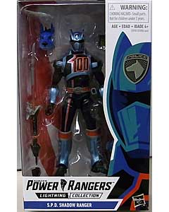HASBRO POWER RANGERS LIGHTNING COLLECTION 6インチアクションフィギュア S.P.D. SHADOW RANGER