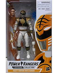HASBRO POWER RANGERS LIGHTNING COLLECTION 6インチアクションフィギュア MIGHTY MORPHIN WHITE RANGER パッケージ傷み特価