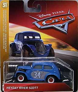 MATTEL CARS 2018-2019 シングル HEYDAY RIVER SCOTT