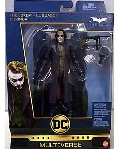 MATTEL DC MULTIVERSE 6.5インチアクションフィギュア SIGNATURE COLLECTION 映画版 BATMAN THE DARK KNIGHT JOKER パッケージダメージ特価