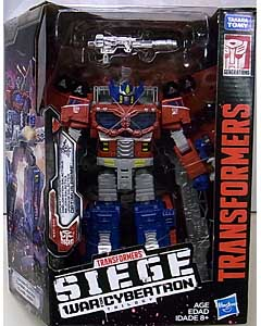 HASBRO TRANSFORMERS SIEGE LEADER CLASS GALAXY UPGRADE OPTIMUS PRIME