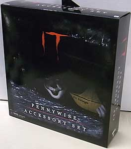 NECA IT [2017] PENNYWISE ACCESSORY SET