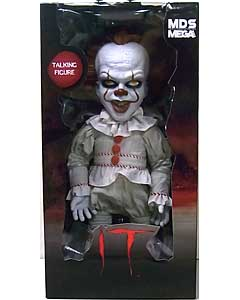 MEZCO DESIGNER SERIES IT [2017] MEGA SCALE TALKING PENNYWISE パッケージ傷み特価