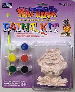 SHADOWBOX COLLECTIBLES RAT FINK PAINT KIT RAT FINK KITTY