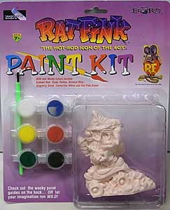 SHADOWBOX COLLECTIBLES RAT FINK PAINT KIT ZLICKO
