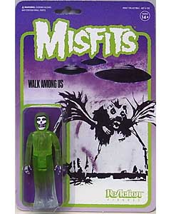 SUPER 7 REACTION FIGURES 3.75インチアクションフィギュア MISFITS THE FIEND [WALK AMONG US (GREEN) ]
