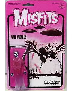 SUPER 7 REACTION FIGURES 3.75インチアクションフィギュア MISFITS THE FIEND [WALK AMONG US (PINK) ]