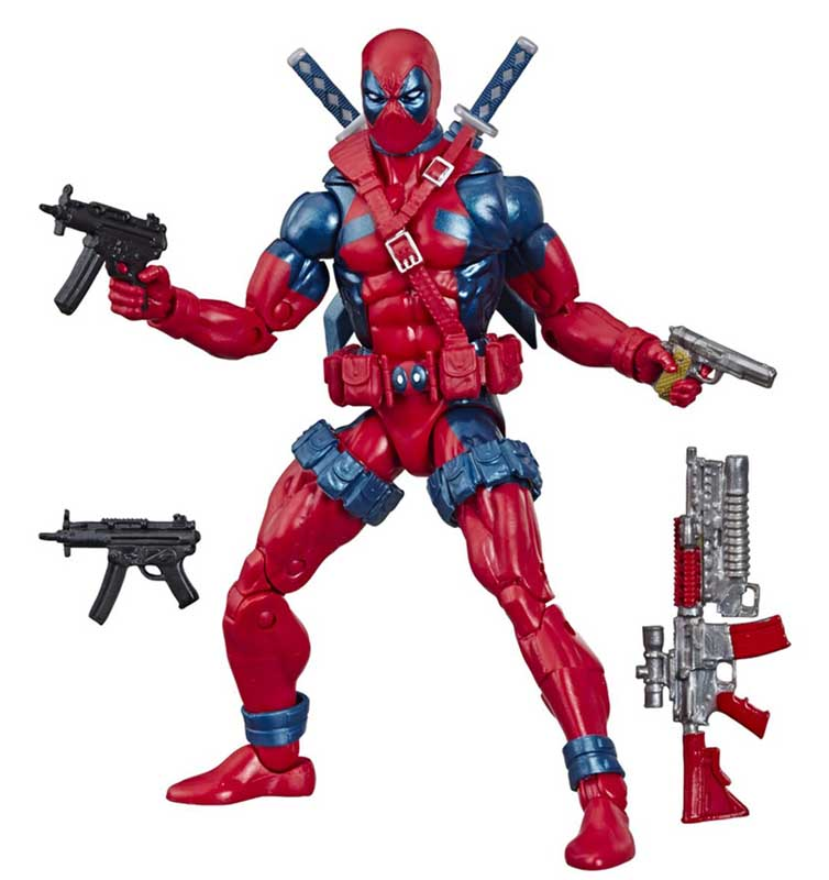 HASBRO MARVEL LEGENDS RETRO 6-INCH COLLECTION MARVEL 80 YEARS THE UNCANNY X-MEN X-FORCE DEADPOOL