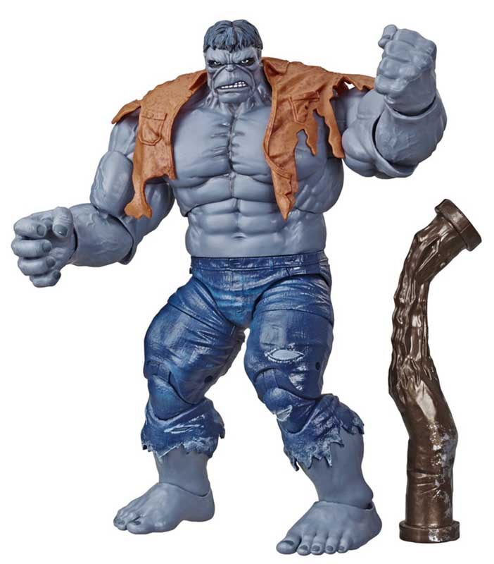 HASBRO MARVEL LEGENDS RETRO 6-INCH COLLECTION 80 YEARS THE INCREDIBLE HULK GREY HULK