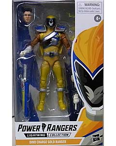 HASBRO POWER RANGERS LIGHTNING COLLECTION 6インチアクションフィギュア DINO CHARGE GOLD RANGER
