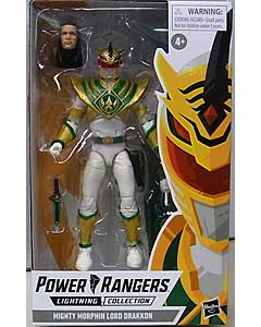 HASBRO POWER RANGERS LIGHTNING COLLECTION 6インチアクションフィギュア MIGHTY MORPHIN LORD DRAKKON パッケージ傷み特価