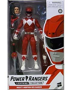 HASBRO POWER RANGERS LIGHTNING COLLECTION 6インチアクションフィギュア MIGHTY MORPHIN RED RANGER