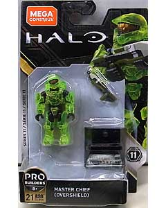 MEGA CONSTRUX HALO HEROES SERIES 11 MASTER CHIEF [OVERSHIELD]
